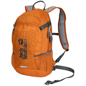 Jack Wolfskin Velocity 12 Zaino, orange grid